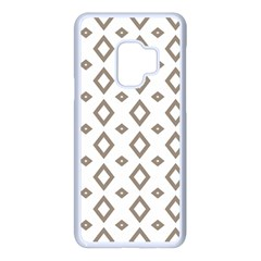 Background Texture Triangle Samsung Galaxy S9 Seamless Case(white) by HermanTelo
