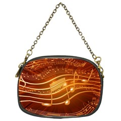 Music Notes Sound Musical Love Chain Purse (one Side) by HermanTelo