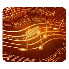 Music Notes Sound Musical Love Double Sided Flano Blanket (small)