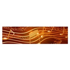 Music Notes Sound Musical Love Satin Scarf (oblong)
