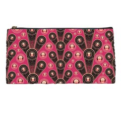 Background Abstract Pattern Pencil Cases
