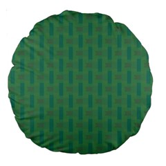 Pattern Background Blure Large 18  Premium Round Cushions
