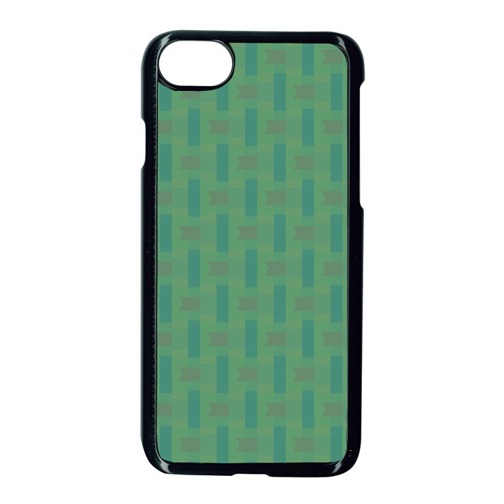 Pattern Background Blure iPhone 7 Seamless Case (Black)