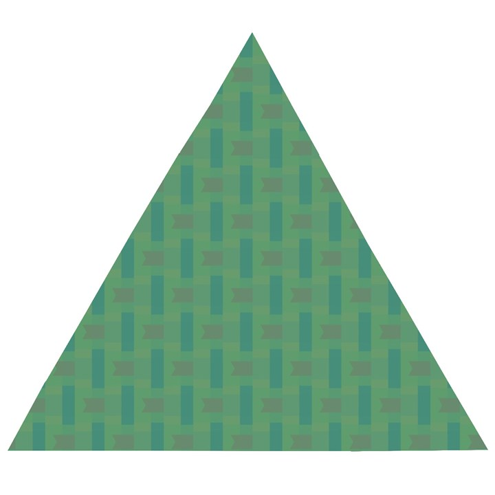 Pattern Background Blure Wooden Puzzle Triangle