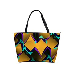 Geometric Gradient Psychedelic Classic Shoulder Handbag by HermanTelo