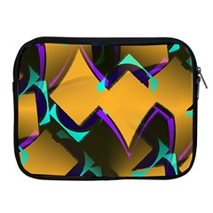 Geometric Gradient Psychedelic Apple Ipad 2/3/4 Zipper Cases