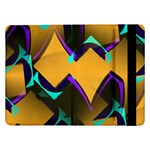 Geometric Gradient Psychedelic Samsung Galaxy Tab Pro 12.2  Flip Case Front