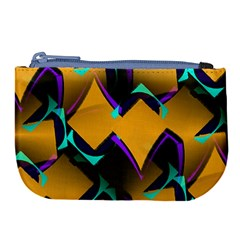 Geometric Gradient Psychedelic Large Coin Purse