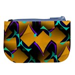 Geometric Gradient Psychedelic Large Coin Purse Back