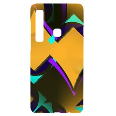 Geometric Gradient Psychedelic Samsung A9 Black Uv Print Case by HermanTelo