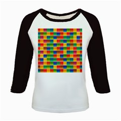 Background Colorful Abstract Kids Baseball Jerseys