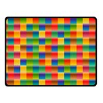 Background Colorful Abstract Fleece Blanket (Small) 50 x40  Blanket Front