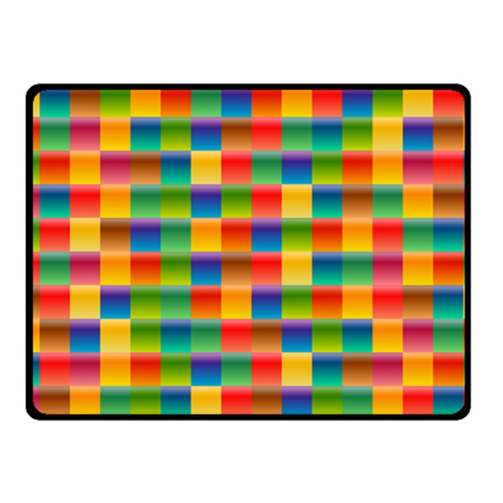 Background Colorful Abstract Fleece Blanket (Small)
