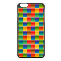 Background Colorful Abstract Iphone 6 Plus/6s Plus Black Enamel Case