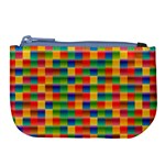 Background Colorful Abstract Large Coin Purse Front