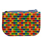 Background Colorful Abstract Large Coin Purse Back