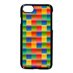 Background Colorful Abstract iPhone 7 Seamless Case (Black) Front