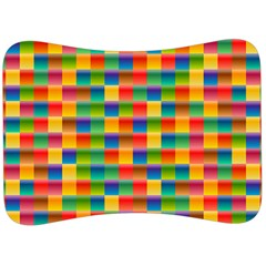 Background Colorful Abstract Velour Seat Head Rest Cushion