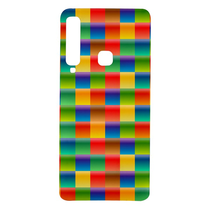 Background Colorful Abstract Samsung Galaxy A9 TPU UV Case