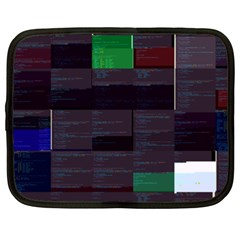Fgoyer Streamable-go s Streamable-go Glitch Code 15inch Laptop Sleeve by HoldensGlitchCode