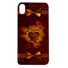 Beautiful Heart With Leaves Apple iPhone XR TPU UV Case