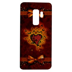 Beautiful Heart With Leaves Samsung Galaxy S9 Plus TPU UV Case