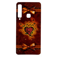 Beautiful Heart With Leaves Samsung Galaxy A9 TPU UV Case
