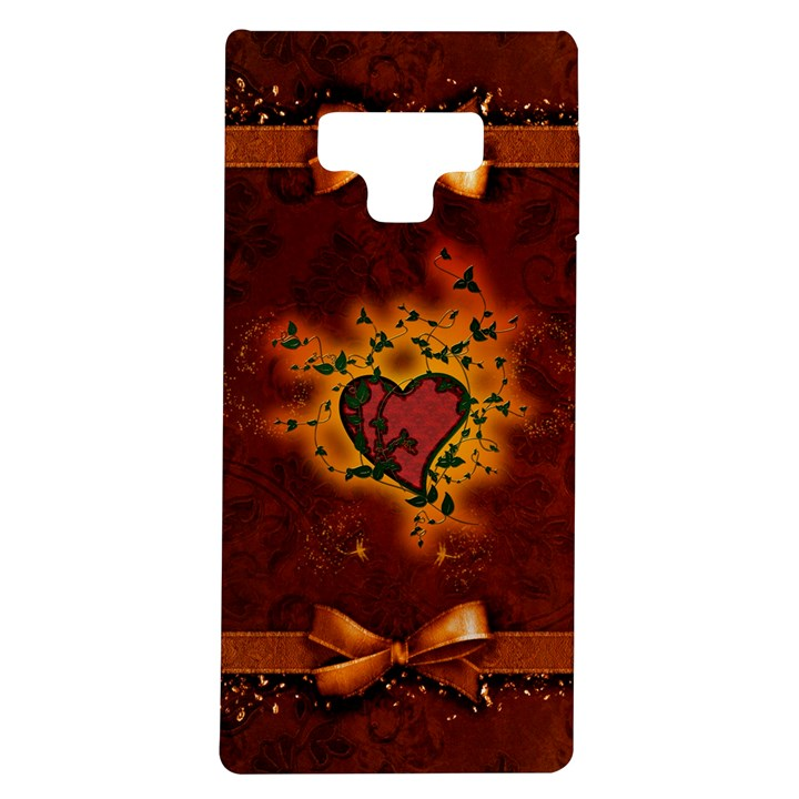 Beautiful Heart With Leaves Samsung Galaxy Note 9 TPU UV Case