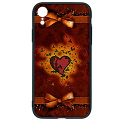 Beautiful Heart With Leaves iPhone XR Soft Bumper UV Case