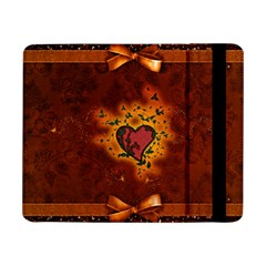 Beautiful Heart With Leaves Samsung Galaxy Tab Pro 8.4  Flip Case