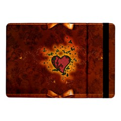 Beautiful Heart With Leaves Samsung Galaxy Tab Pro 10.1  Flip Case