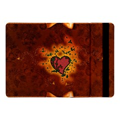 Beautiful Heart With Leaves Apple iPad Pro 10.5   Flip Case