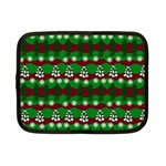 Snow Trees and Stripes Netbook Case (Small) Front