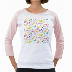 1 Arnold Girly Raglan