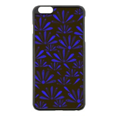 Zappwaits Flower Iphone 6 Plus/6s Plus Black Enamel Case