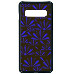 Zappwaits Flower Samsung Galaxy S10 Seamless Case(black)