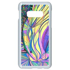 Happpy (4) Samsung Galaxy S10e Seamless Case (white) by nicholakarma