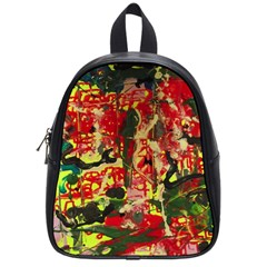 Red Country-1-2 School Bag (small) by bestdesignintheworld