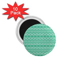 Pattern Green 1 75  Magnets (10 Pack)  by Mariart