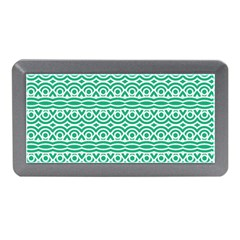 Pattern Green Memory Card Reader (mini)