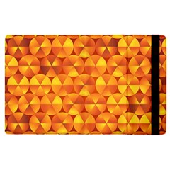 Background Triangle Circle Abstract Apple Ipad Mini 4 Flip Case