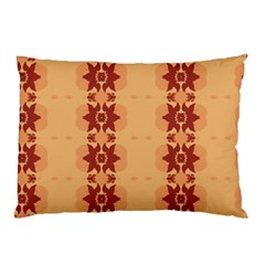 Brown Flower Pillow Case (two Sides)