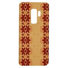 Brown Flower Samsung Galaxy S9 Plus Tpu Uv Case by HermanTelo