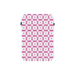 Cute Pattern Pink Background Design Apple Ipad Mini Protective Soft Cases