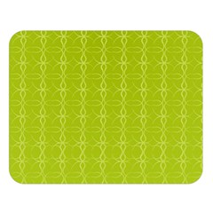 Background Texture Pattern Green Double Sided Flano Blanket (large)