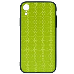 Background Texture Pattern Green Iphone Xr Soft Bumper Uv Case by HermanTelo