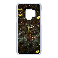 Music Clef Musical Note Background Samsung Galaxy S9 Seamless Case(white) by HermanTelo