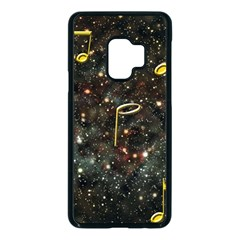 Music Clef Musical Note Background Samsung Galaxy S9 Seamless Case(black) by HermanTelo