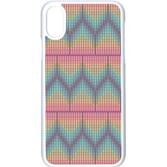 Pattern Background Texture Colorful Iphone Xs Seamless Case (white)