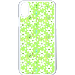 Zephyranthes Candida White Flowers Iphone X Seamless Case (white)